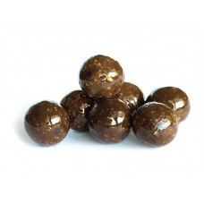 130 GR Boilies in Dip Hot Chilli